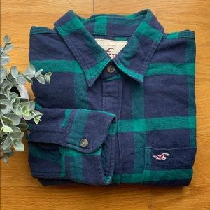 Hollister Men's flannel shirt